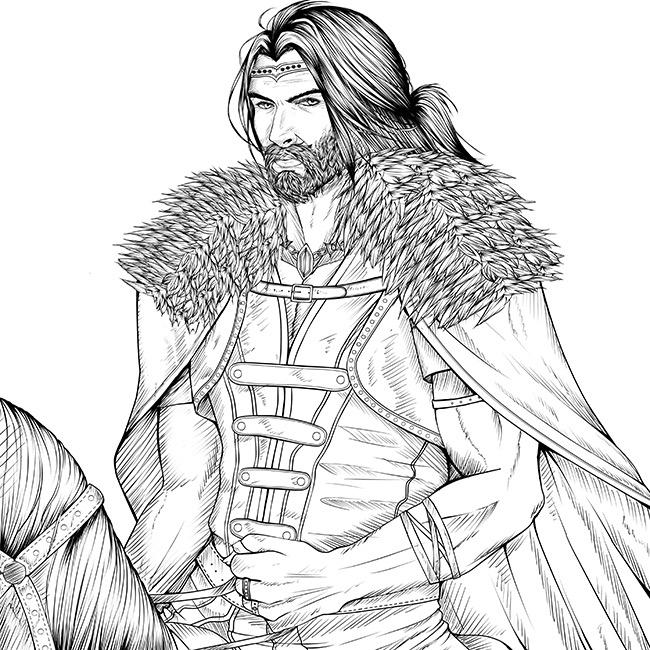 Bakard personnage du livre Speculum