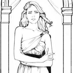 Nylia-Mey personnage du livre Speculum